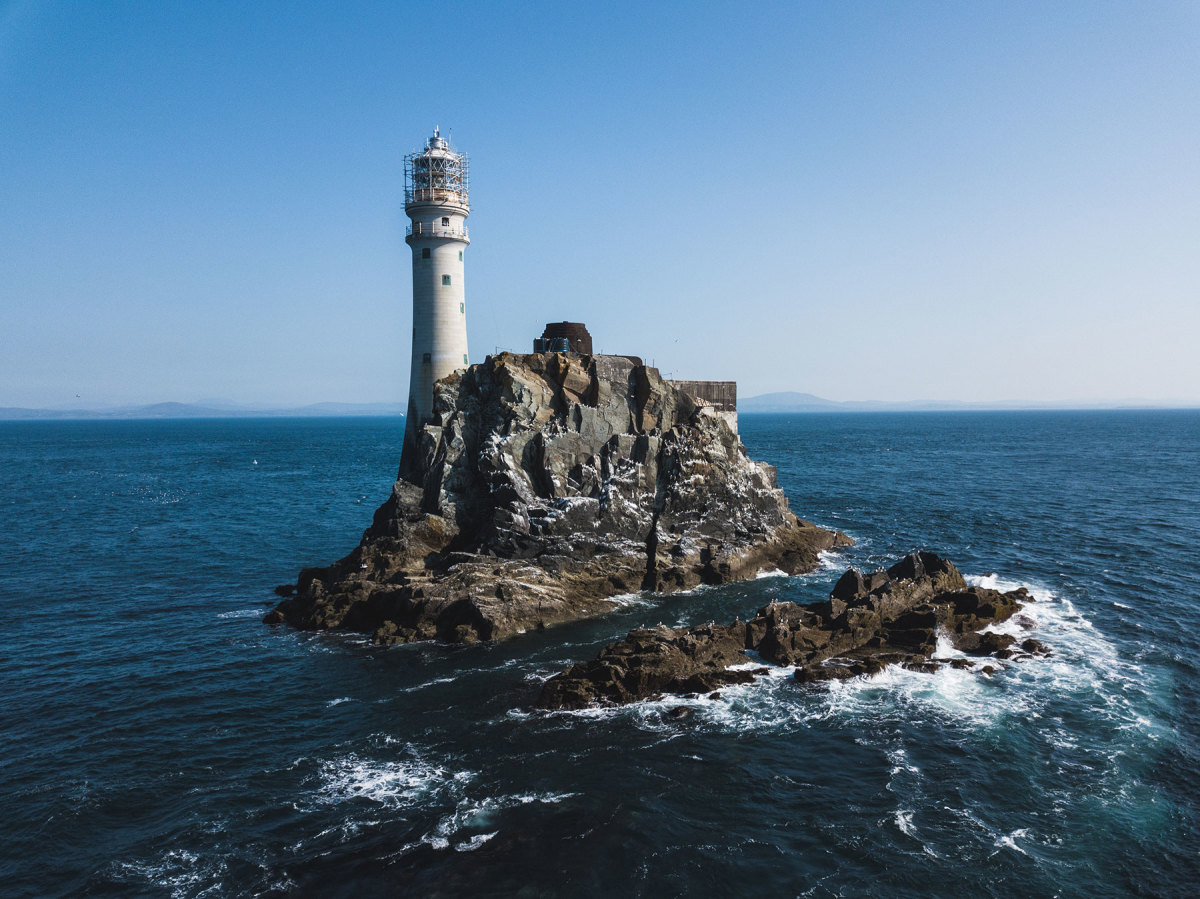 """As the last part of Ireland that 19th-century emigrants saw when they sailed to North America, Fastnet Rock is also known as """"Ireland's teardrop."""""""